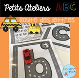 FRENCH ABC Letter road/Atelier ABC (Route des lettres)