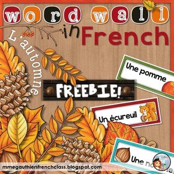 FRENCH AUTUMN *FREEBIE* - L'AUTOMNE