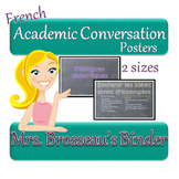 FRENCH Academic Conversations for Accountable Talk - Posters
