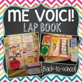 FRENCH All About Me (TOUT SUR MOI/ME VOICI) LAP BOOK for Back to School