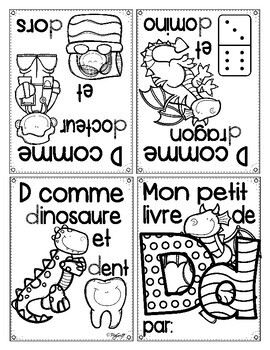 FRENCH Alphabet Books
