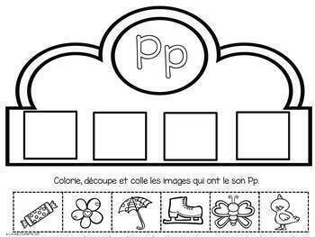FRENCH Alphabet Crowns/Couronnes de l'alphabet A à Z