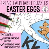 FRENCH Alphabet Easter Literacy Centre - Lettres et sons i