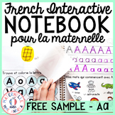 FRENCH Alphabet Interactive Notebook - FREE SAMPLE - La lettre Aa