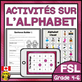 FRENCH Alphabet Unit