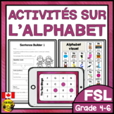 FRENCH Alphabet Unit