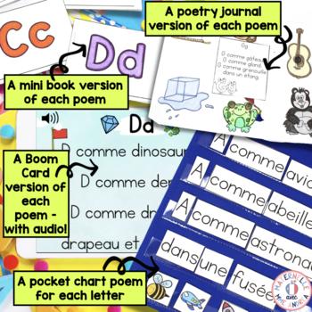 French Alphabet Poems Po 232 Mes Pour Les Lettres D Alphabet