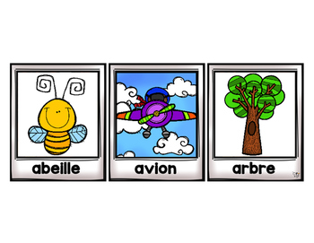 FRENCH Alphabet Sorting Mats {Brights}