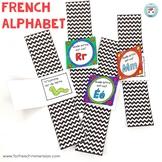 L'alphabet FRENCH Alphabet Watches LES LETTRES DE L'ALPHABET