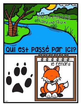 FRENCH Animal Tracks Identification
