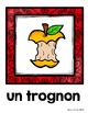 FRENCH {Apple Orchard words Scavenger Hunt}/ Au verger {ch