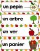 FRENCH {Apples}Math and literacy/Les pommes {maths et littératie}