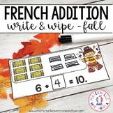 FRENCH Autumn Math Centre - Centres de mathématiques (automne) - Addition