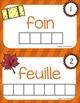 FRENCH {Autumn Words center}/ Automne {Mots à composer}