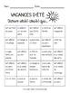 French Back to School Bingo Activity: Find Someone Who - Trouve quelqu'un qui