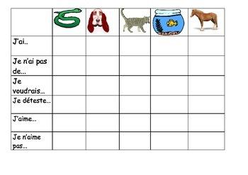 FRENCH - BATTLESHIPS - Animaux (animals)