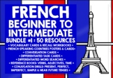 FRENCH BEGINNER TO INTERMEDIATE BUNDLE #1