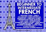 BACK TO SCHOOL FRENCH BEGINNER TO INTERMEDIATE BUNDLE