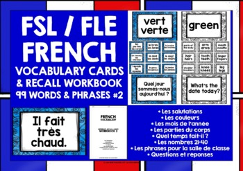 FRENCH VOCABULARY CARDS 2