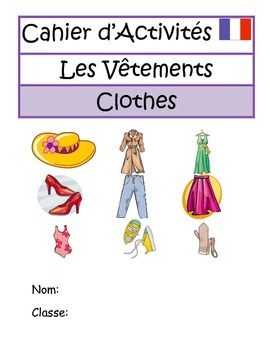 FRENCH BOOKLET - Clothes