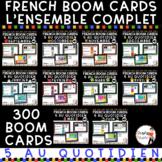 FRENCH BOOM CARDS - 5 au quotidien – BUNDLE - Jeux AUDIO i