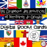 FRENCH BOOM CARDS • Drapeaux des provinces et territoires du Canada