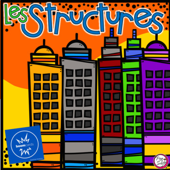 FRENCH BOOM CARDS • Les STRUCTURES