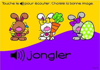 FRENCH BOOM CARDS • Les verbes CELEBRATIONS BUNDLE • avec Audio