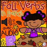 FRENCH BOOM CARDS • Les verbes • L'AUTOMNE avec Audio