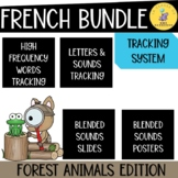 FRENCH BUNDLE I FRENCH letters, sounds and high frequency words data tracking