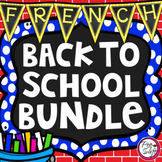 FRENCH Back to School BUNDLE