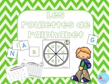 FRENCH {Back to school ABC center}/ Rentrée {Roulettes des