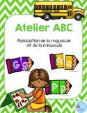 FRENCH {Back to school ABC puzzles}/ Rentrée {Majuscules et minuscules