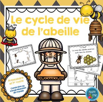 FRENCH {Bee life cycle}/ Le cycle de vie de l'abeille