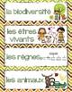 FRENCH Biodiversity Word Wall - La Biodiversité (Mots clés)