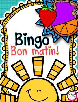 FRENCH Breakfast BINGO {Create Your Own Card}