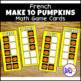 Build 10 Math Game Cards in French Handheld Size BUNDLE