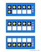 FRENCH Build 10 Stars Math Game Cards
