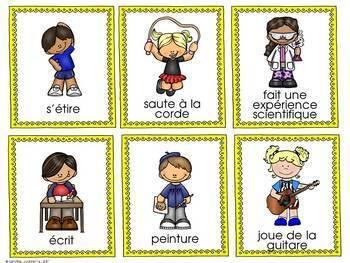 FRENCH Build-A-Sentence/ J'écris des phrases farfelues