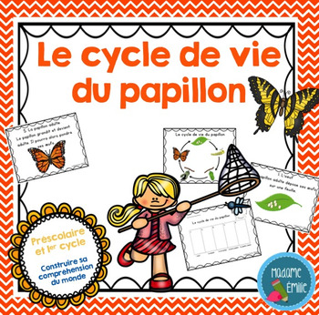 FRENCH {Butterfly life cycle}/ Le cycle de vie du papillon