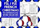 FRENCH CHRISTMAS WORD SEARCHES