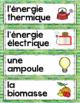 FRENCH CONSERVATION OF ENERGY UNIT - GRADE 5 SCIENCE (L'ÉCONOMIE DE L'ÉNERGIE)