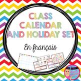 FRENCH Calendar - Calendrier