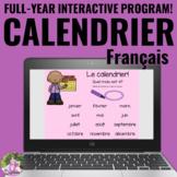 FRENCH Digital Calendar Math   Google™ AND PowerPoint   Di