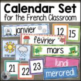FRENCH Calendar Set - Ensemble de calendrier - Days Months
