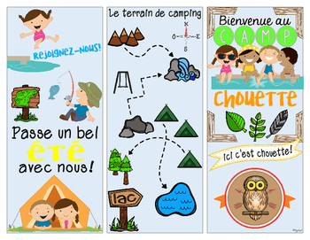 FRENCH Camping Pamphlet