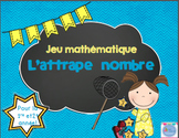 FRENCH Catch the number game/ Jeu Attrape-Nombre