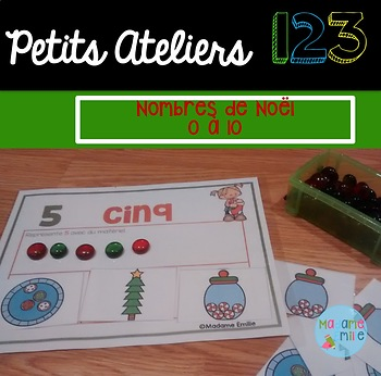 FRENCH Christmas 123 Center/ Atelier 123(Noël)