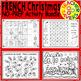 FRENCH Christmas Activities Bundle