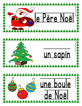 FRENCH Christmas Activities Bundle